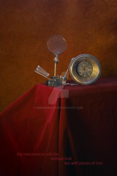 The neoclassical still life without fruit but with by BrigBarkow