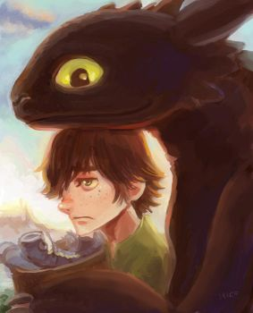 Hiccup by hiraco