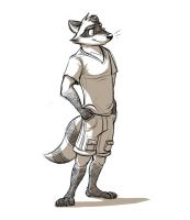 Ryan the Raccoon by Temiree
