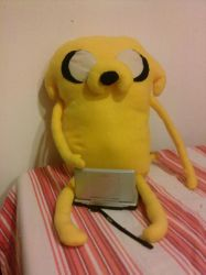 Jake of Adventure Time! by DemodexPlush