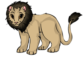 African Lion by StarryEvening
