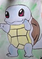 Pokemon: Squirtle by Katherine-The-Freak