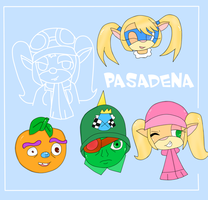 Pasie and the gang by ShortyCream97