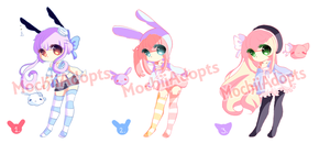 [CLOSED] Chibi Batch #4 by MochiiAdopts