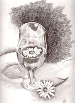 Daisy in Glass by ayaseXD