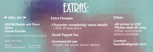 Prices march2018 5 extras by uriiboo