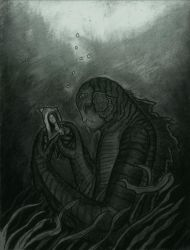 Creature from the Black Lagoon by Exploding-Monkey