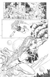 Secret origins 02 Starfire page 10 by PauloSiqueira