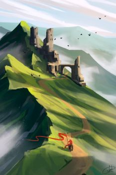 1 hour speed paint by LaszloEde