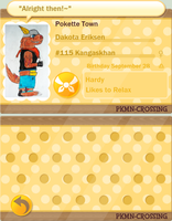 PKMN Crossing Dakota Profile (Update) by dragoon4456555