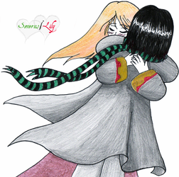 Don't let me go:  Sev-Lily by superaura