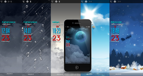 -Updated- LiveWeather Lockscreen by poetic24