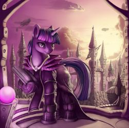 Char Design: Archmage Twilight by Sceathlet