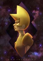 Yellow Diamond by 2MindsStudio