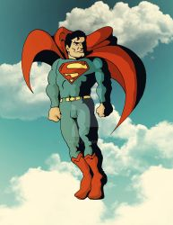 Superman by illyaking
