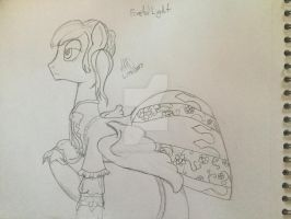Lucette Riella Britton aka Frosted Light: WIP by CrimsonGlow