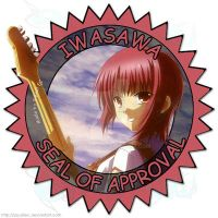 Iwasawa Seal of Approval by SquallEC
