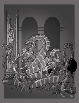 Lair of the Snake God by cwalton73