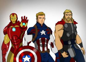 Avengers Trinity by RJDJ-Productions