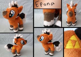 Epona Pony Plush by ShadowKrafts