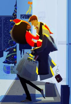 Under the Mistletoe by PascalCampion