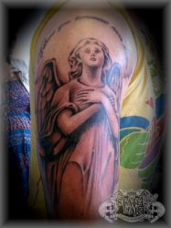 Shaded angel by state-of-art-tattoo