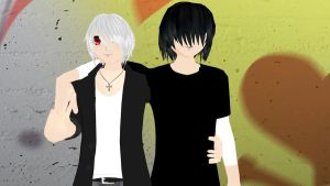 MMD Newcomers: Harry and Leo by MochaMonet
