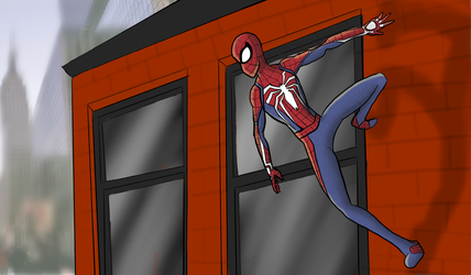 Spider-Man PS4 by CrookedHookArt