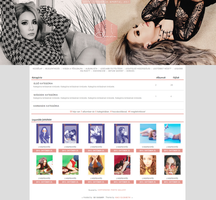 2NE1 CL So Sugary Gallery Layout by Efruse