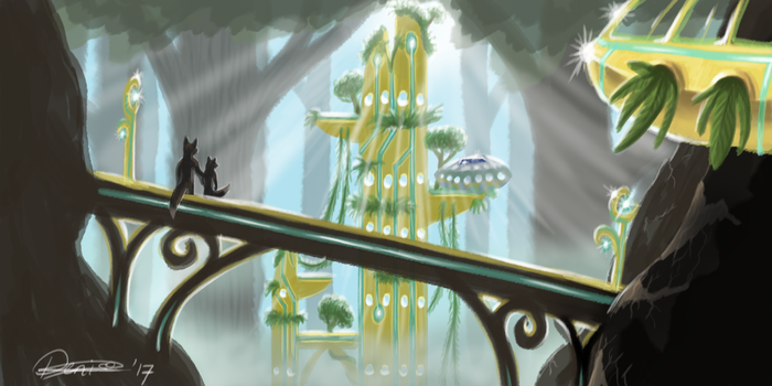 Our Home by The-fox-of-wonders