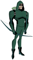 Commission: CW Arrow Oliver Queen DCAU Style by AMTModollas