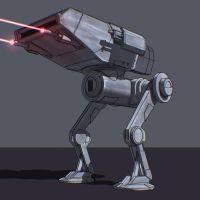 Star Wars Walker Prototype by AdamKop
