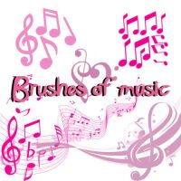 brushesnotasmusicales by EditionsbyEvah