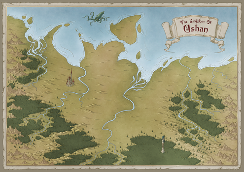 The Kingdom of Ushan by arsheesh
