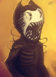 Twisted Bendy by ZombieCentipede