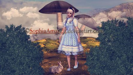 Alice in Wonderland by SophiaAmanda