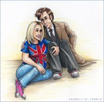 The Doctor and Rose by dana-redde