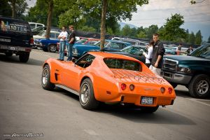 orange Stingray by AmericanMuscle