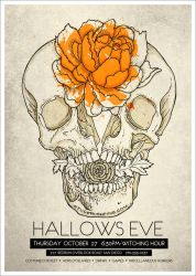 Flyer: Hallows Eve by stuckwithpins