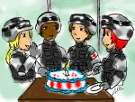 Happy Belated to the Troops by Arcemise