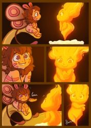 Moth and the Flame 8 by StressedJenny