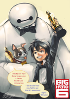 congratulations to Baymax by longjunt