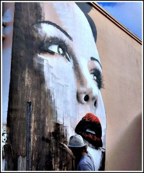 Rone Painting in Miami by Shyree