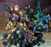 METROID PRIME by yagatama