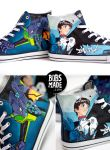 Evangelion FANART Shoes by Bobsmade