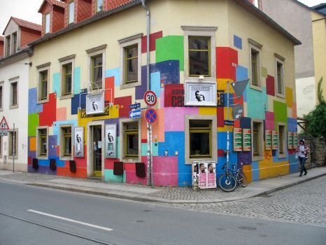 Multicolour building by Yasmin661