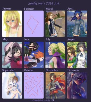 2014 Summary of Art by SoulsCore