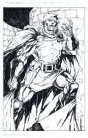 Doctor Doom commission by adelsocorona