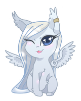 try to be cute by PegasusXIII