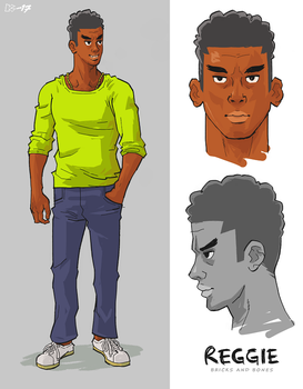 Reggie Redesign by art-kit